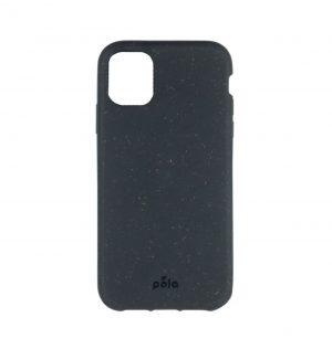 Black eco-friendly phone case (front)