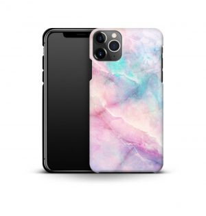 Pink and purple marble phone case (premium)