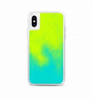Fluorescent green phone case