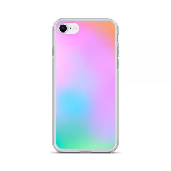 Pink and green ombré phone case (iPhone 7/8)
