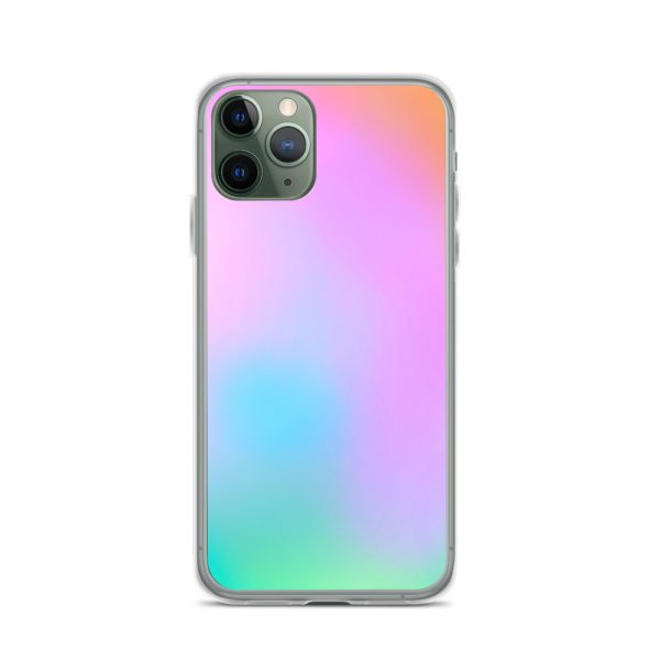 Pink and green ombré phone case (iPhone 11 Pro)