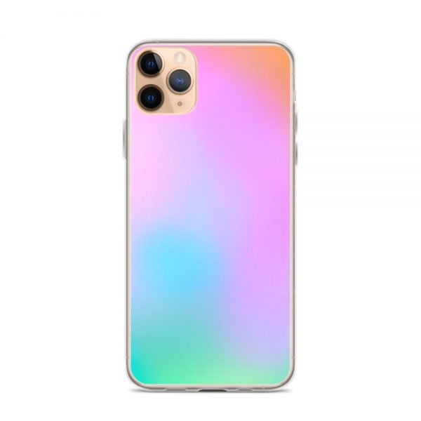 Pink and green ombré phone case (iPhone 11 Pro Max)