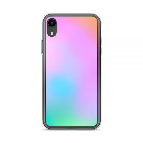 Pink and green ombré phone case (iPhone XR)