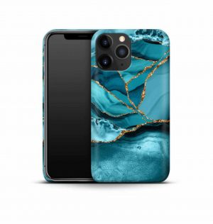 Blue marble phone case (hard)