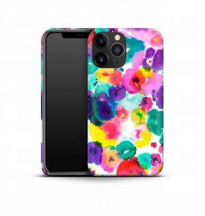 Watercolor flower phone case (hard)